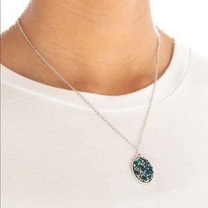 Star Crossed Stargazer blue necklace
